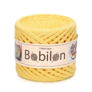 T-shirt yarn medium 7-9mm - Banana