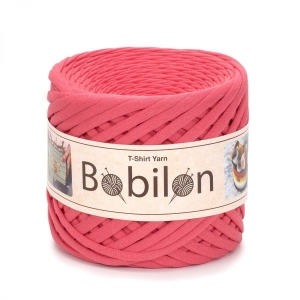 T-shirt yarn medium 7-9mm - Coral
