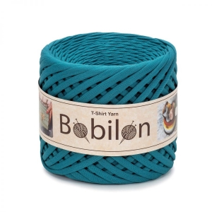 T-shirt yarn medium 7-9mm - Deep Ocean