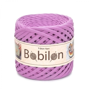 T-shirt yarn medium 7-9mm - Buble Gum