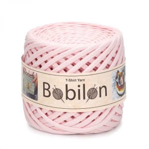 T-shirt yarn medium 7-9mm - Blush Pink