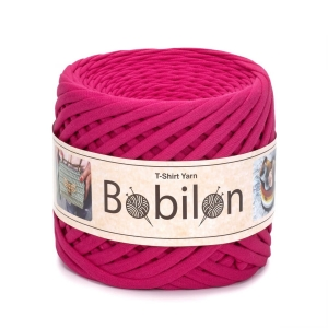 T-shirt yarn maxi 9-11mm - Hot Pink