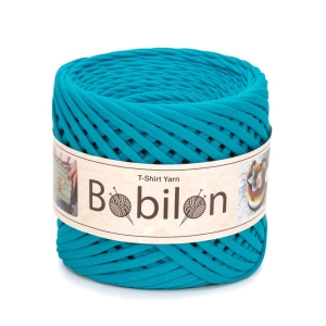 T-shirt yarn maxi 9-11mm - Blue Lagoon