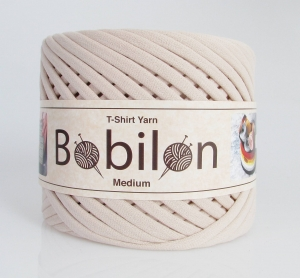 T-shirt yarn maxi 9-11mm - Ivory