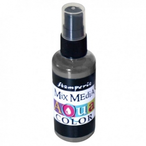 Aquacolor spray 60ml grafitowy