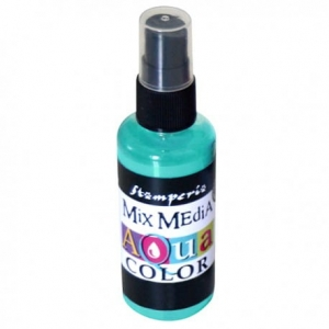 Aquacolor spray 60ml turkusowy