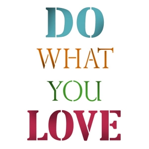 Szablon 21x30cm do what you love