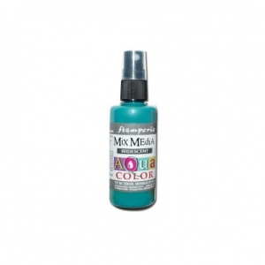 Aquacolor spray metalik 60ml turkusowy